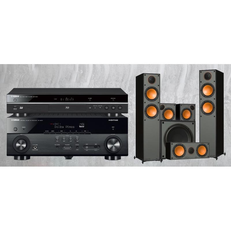 Yamaha RX-A670 + BD-S681 + Monitor Audio 200 + 100 + C150 + MRW10